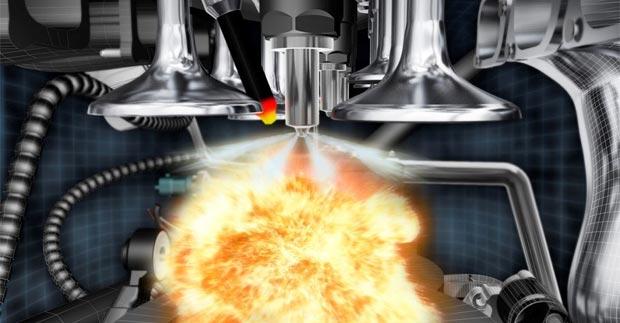 Температура горения газа и бензина