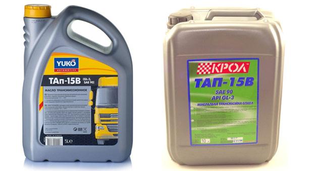 трансмиссионное масло тап-15