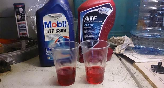 масло атф для акпп