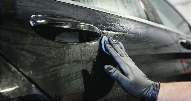 синяя глина для чистки автомобиля