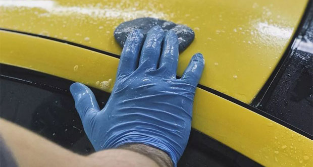 синяя глина для авто