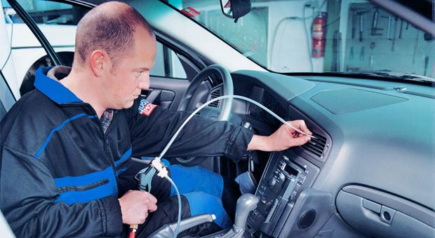 очищаем кондиционер автомобиля