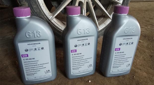 антифриз g12 и g13 можно ли смешивать