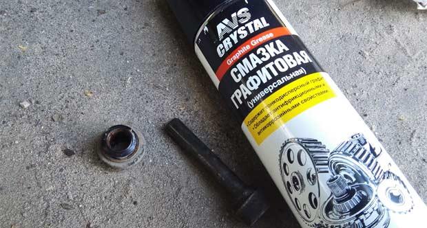 медно-графитная смазка