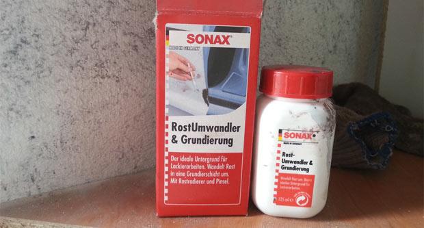 преобразователь ржавчины sonax