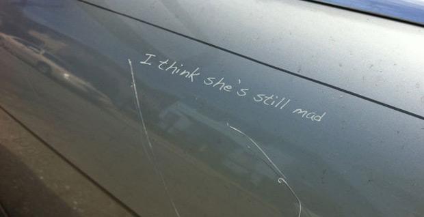 царапины на авто