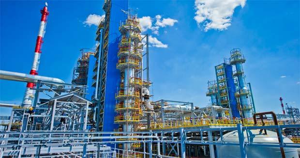 установка нефтепереработки